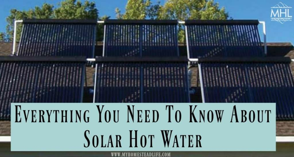 hot water- solar- alternative energy- solar hot water- off grid- living off grid