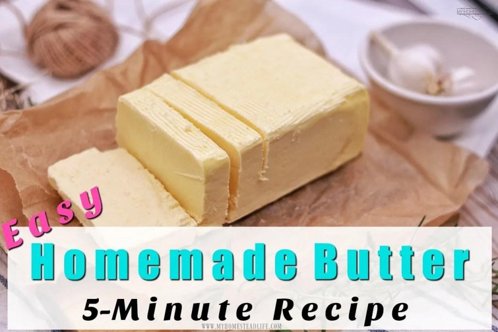 homemade-butter-recipe