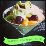 Avocado Lime Yogurt Parfait