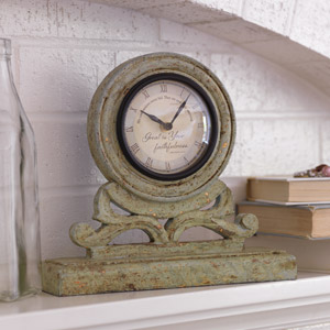 Great is Your Faithfulness Mantel Clock
