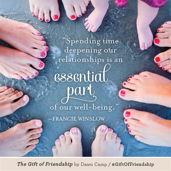 Francie Winslow The Gift of Friendship #GiftofFriendship