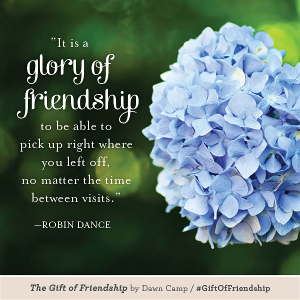 Robin Dance The Gift of Friendship #GiftofFriendship
