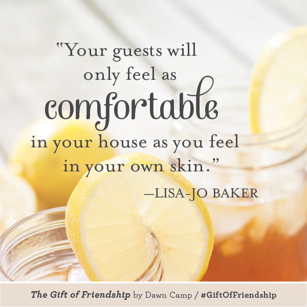 Lisa-Jo Baker The Gift of Friendship #GiftofFriendship