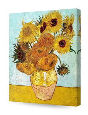Twelve Sunflowers, Vincent Van Gogh Art Reproduction
