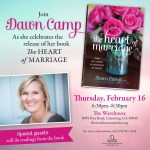 Join Me Next Thursday for the Heart of Marriage Launch Party!