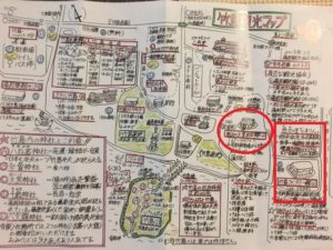 竹島観光マップ