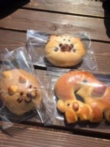 富士サファリパークのパン