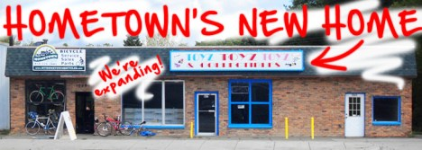 Hometown Bicycles LLC is expanding!