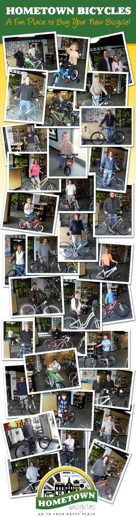 Hometown Bicycles: A fun place to buy a bicycle!