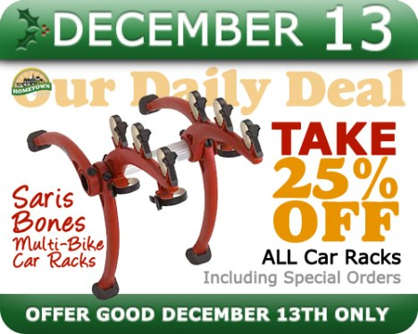 Hometown Bicycles Daily Deal December 13
