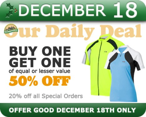 Hometown Bicycles Daily Deal December 18