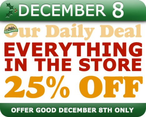 Hometown Bicycles Daily Deal December 8