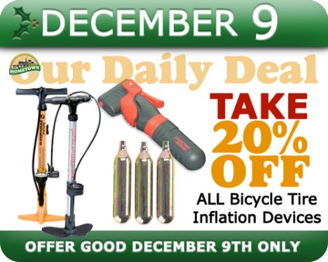 Hometown Bicycles Daily Deal December 9