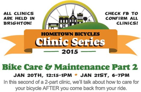 Hometown Bicycles Clinic Series: Bike Care & Maintenance Part 2