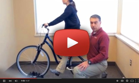 Bicycle Saddle Height video with Pro-Motion Physical Therapy
