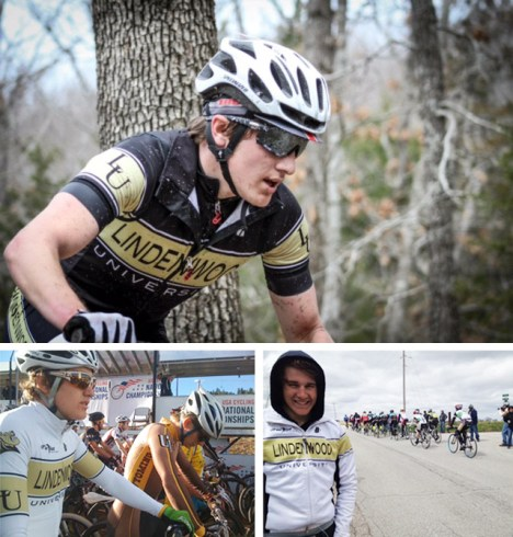 Hometown Bicycles' CJ Brish raced for Lindenwood on scholarship