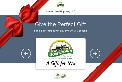 Hometown Bicycles Online Gift Card