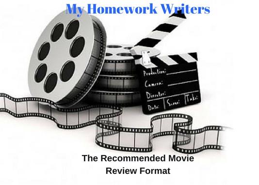 Movie Review Format Comprehensive Guide | Homework Assist