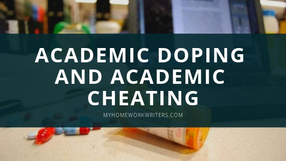 A Look at Academic Doping and Academic Cheating