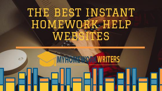 The Best Instant Homework Help Websites