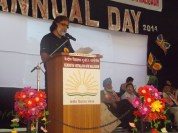 INTRODUCING THE INITIATIVE AT THE LAUNCH DURING ANNUAL DAY 2014 AT KENDRIYA VIDYALAYA NFR MALIGAON, GUWAHATI