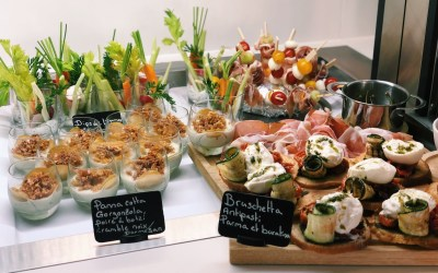 Aperitifs and dinners for groups and companies