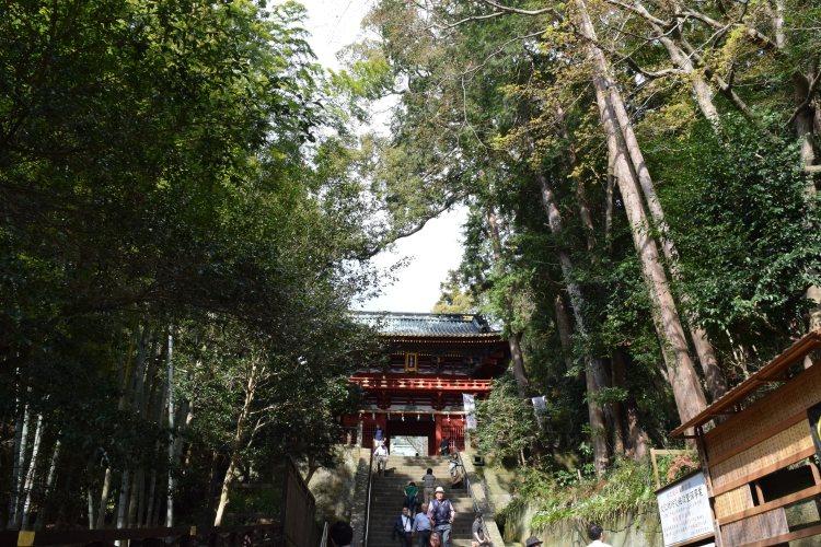 Kunozan Toshogu shrine's main entrance 久能山東照宮の入口