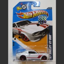 '67 SHELBY GT-500 (white) - HW 2012