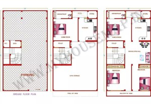 1200 sq ft house plan with car parking in india