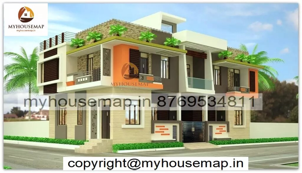 new model house elevation