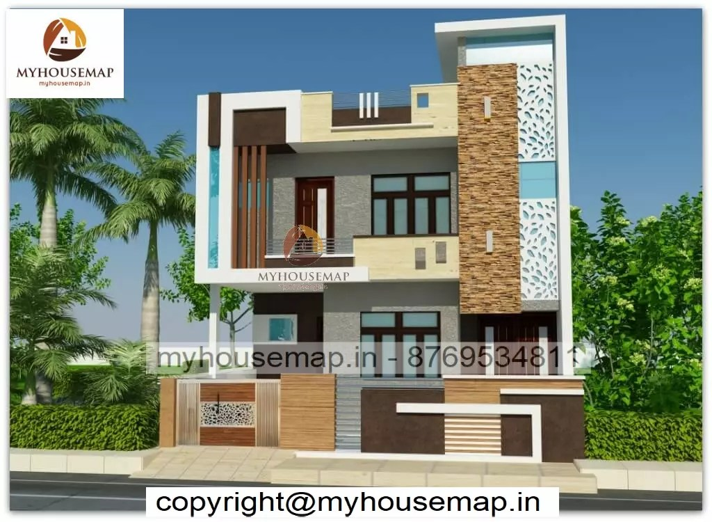 House elevation simple design