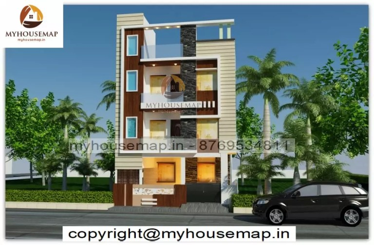 triplex home elevation design
