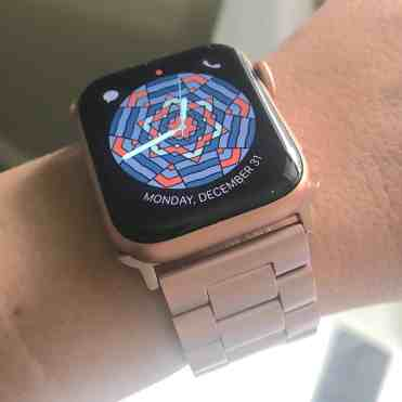 Rose Gold Metal Strap for Apple Watch