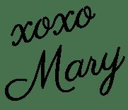 xoxo, Mary
