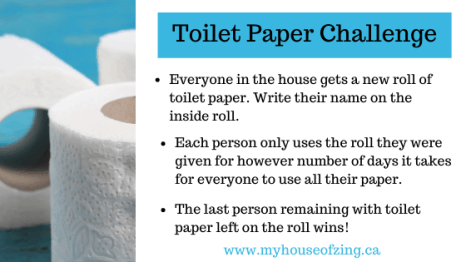 The Toilet Paper Challenge