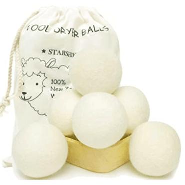 Carose Reusable Wool Dryer Balls