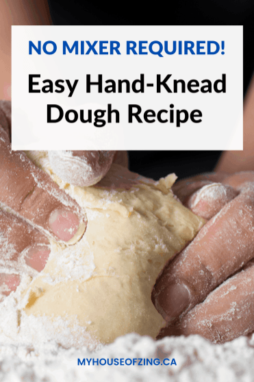 Hand-Knead Dough Recipe Pin