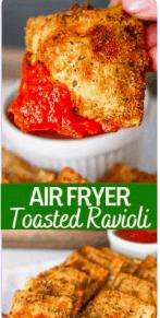 Air Fryer Toasted Ravioli