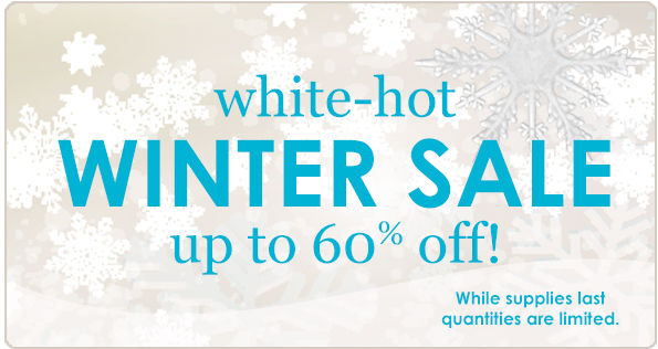 White-Hot Winter Sale