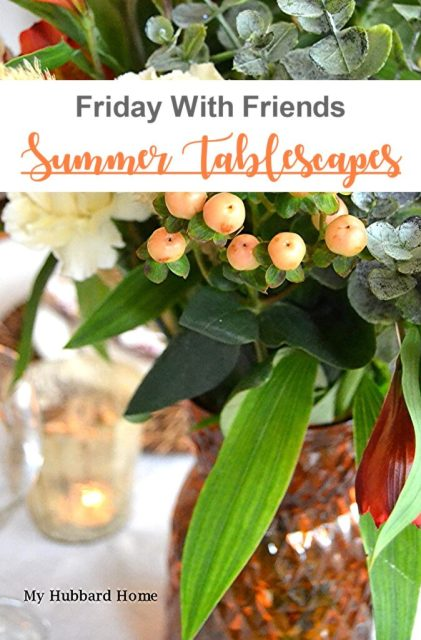 Friday With Friends Summer Tablescapes