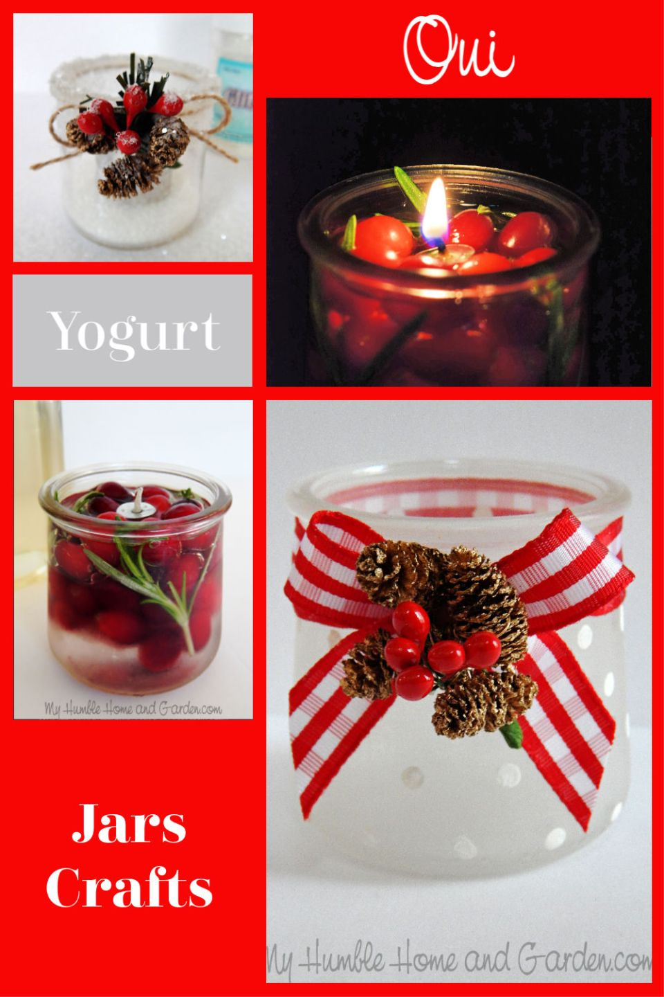Oui Yogurt Jars You Ll Love These Amazing Crafts My Humble Home And Garden