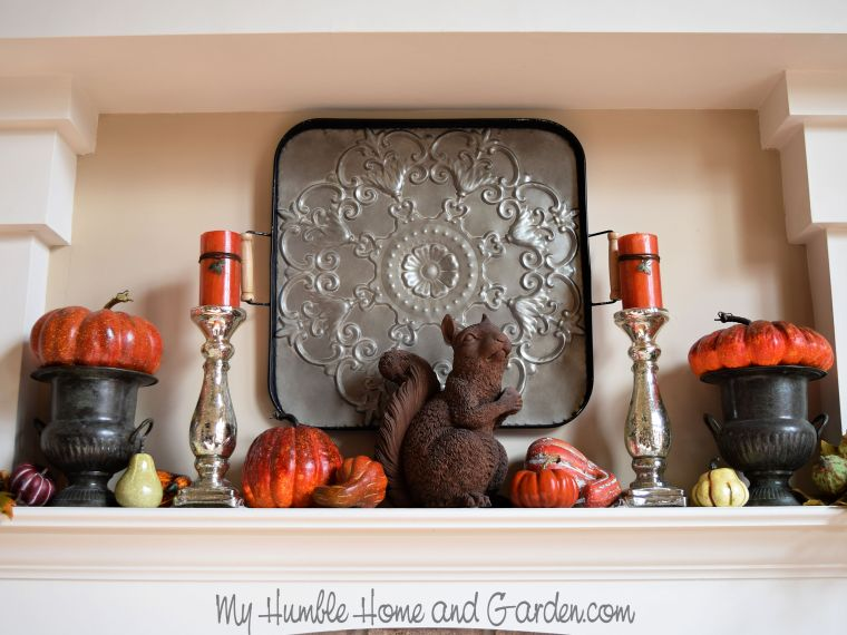 How To Create A Stunning Thanksgiving Mantel