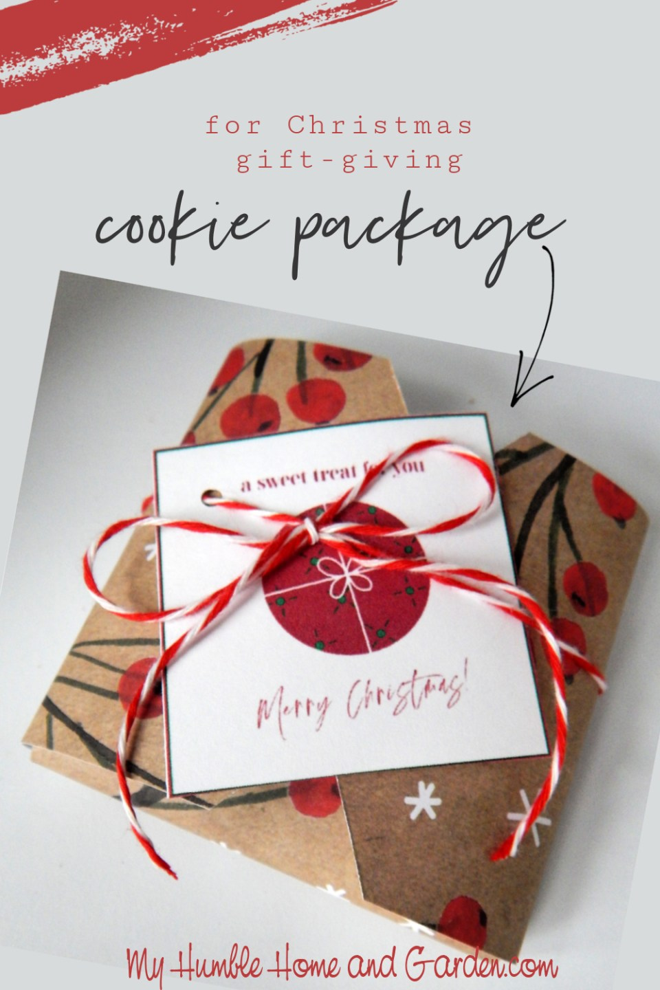How To Package A Cookie For Christmas Gift-Giving