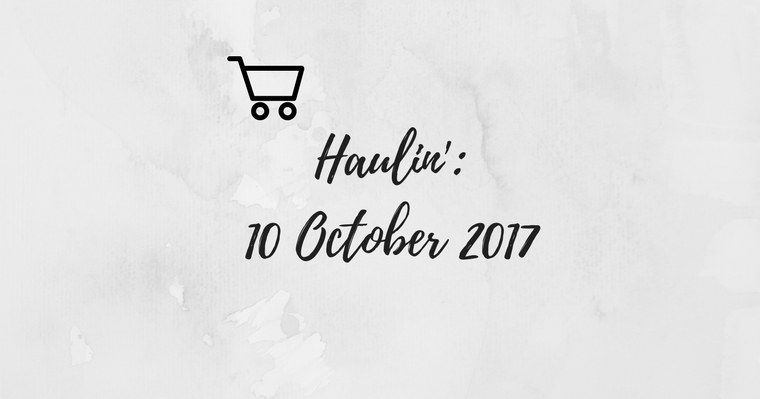 Weekly Grocery Haul: 10 October 2017