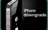 downgrade iPhone iOS 32bits