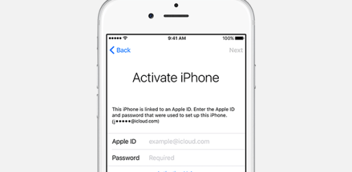 remove icloud with ifile