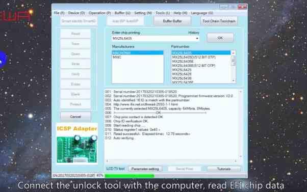 Unlock MacBook 2015-2017 No Chip Removal