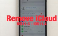 Remove icloud iOS11.3 Activated 100%