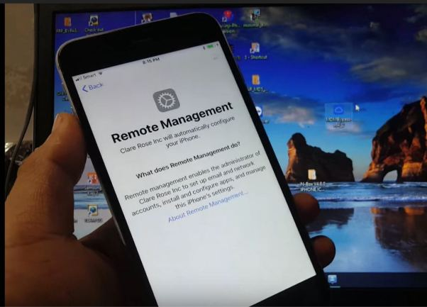 Remove MDM Remote Management from iphone ipad