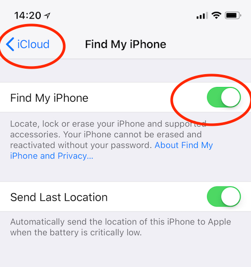 New bug to unlock icloud on activated Iphone